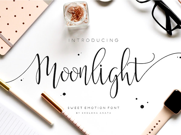 Moonlight Calligraphy Font Free Download