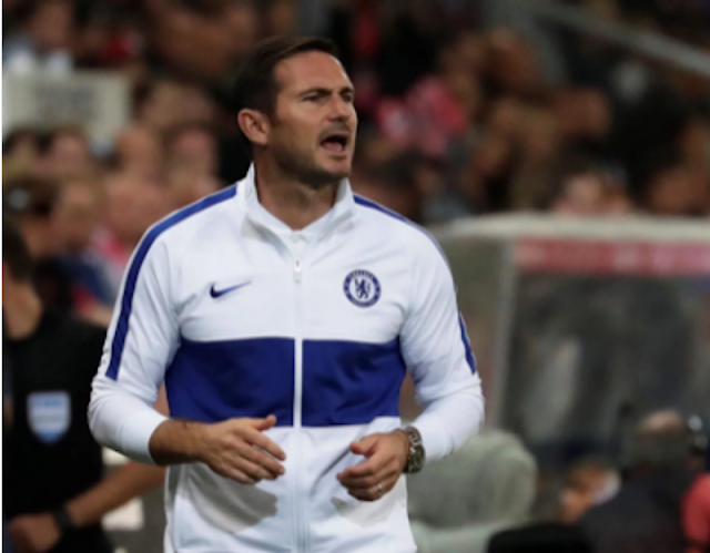 Lampard lists player to miss EPL clash between Chelsea and Man City