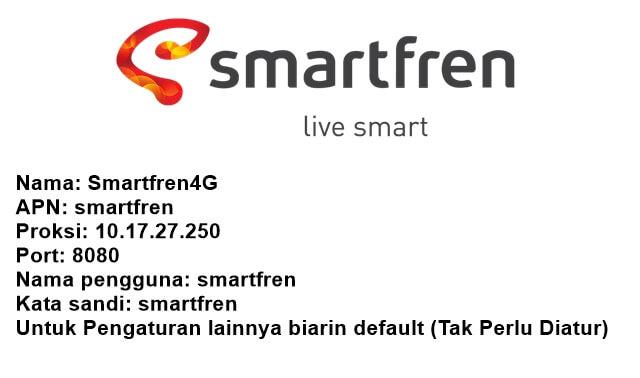 cara setting apn smartfren 4g gsm