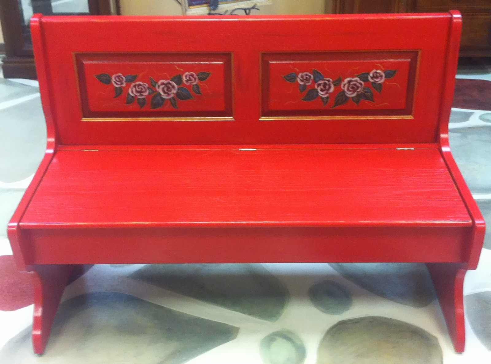 Red Bench 28 Images Red Beer Garden Dining Bench World