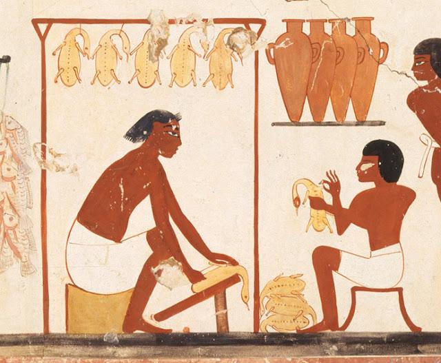 Man Store Ducks, Tomb of Nakht