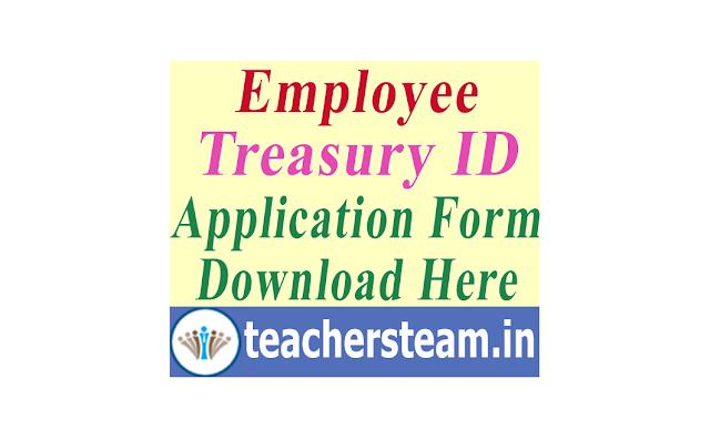 Employee Treasury ID Application Form