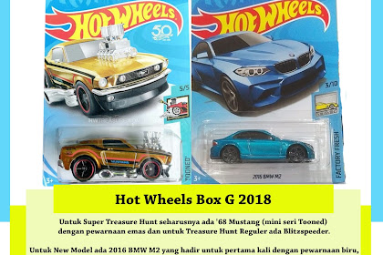 Bocoran Hot Wheels Box G 2018 (Willkommen M2)