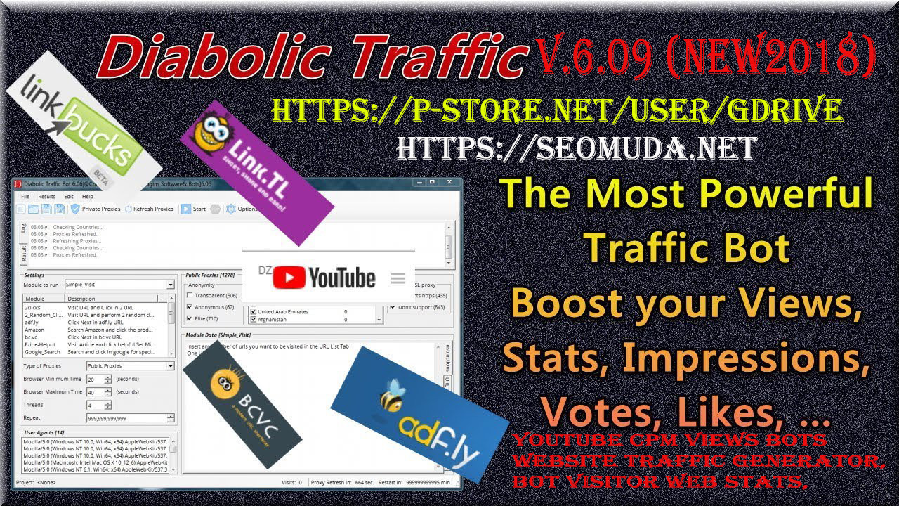 GET] Diabolic Traffic Bot 6 30 Cracked ~ CEO TOOLS CRACKED