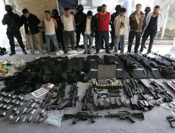 Cárteles mexicanos: separados y más armados que nunca