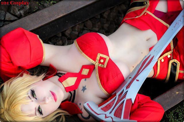 Mordred Order Cosplay By Drosseltira Anysex 1