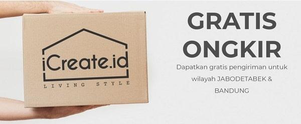 beli furniture online terpercaya di icreate.id