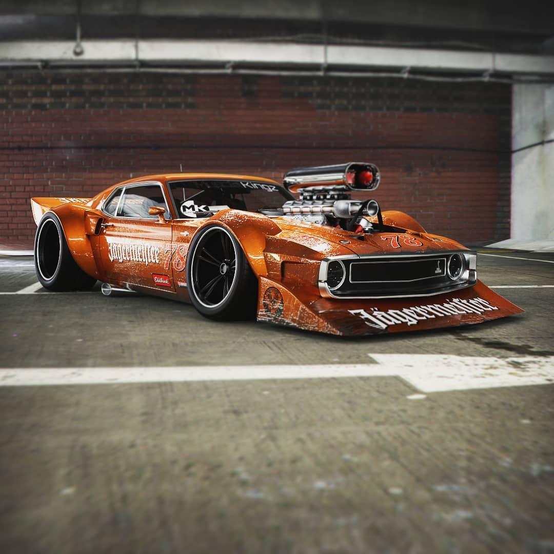 Ford Mustang Shelby GT500 Thunder Snake