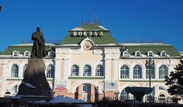 Станция Хабаровск (Транссибирская магистраль)