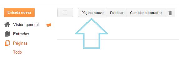 crear-pagina-en-blogger