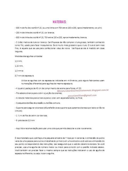 PAP em Português do Vestido de crochê de luxo para Barbie página 4