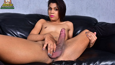Brazilian-transsexuals – Alexia Nazario Strokes For You! Remastered