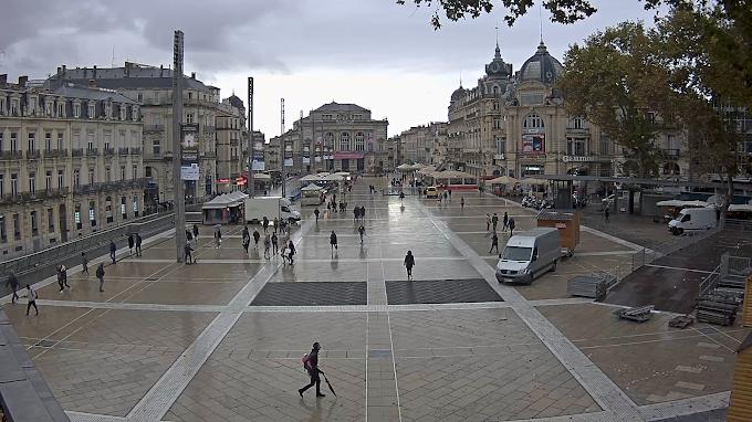 Prévisions météo du vendredi 15 novembre à Montpellier