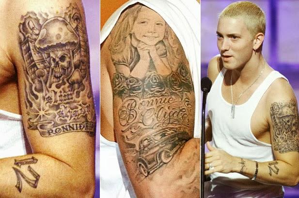 Tattooz Designs: Eminem Tattoos Meaning| Eminem Tattoos ...