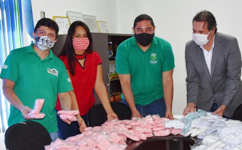 18/06/2020 - Empresários doam 3 mil máscaras para Prefeitura de Rosário Oeste