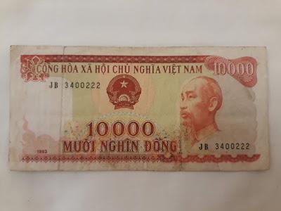 旧10000ドン紙幣