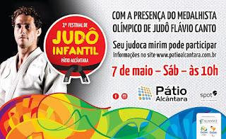 Pátio Alcântara realiza o '1º Festival de Judô Infantil'