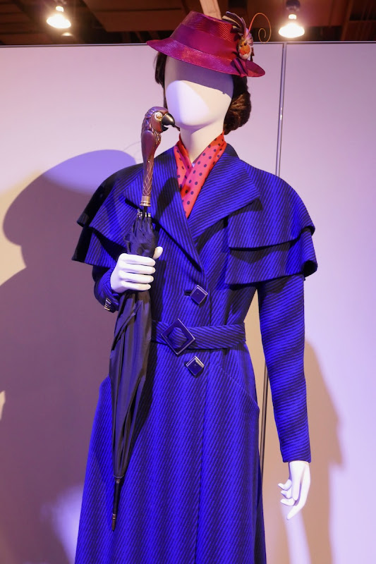 Emily Blunt Mary Poppins Returns film costume