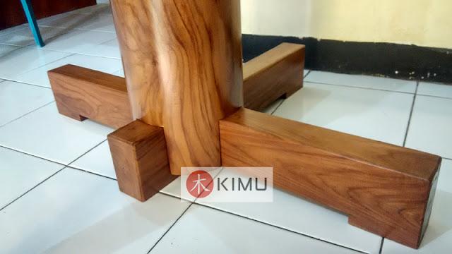 KIMU Gold Tiger Wooden Dummy / Mok Yan Jong 155cm