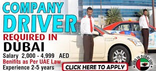 Driver Required in Advertising Company Dubai