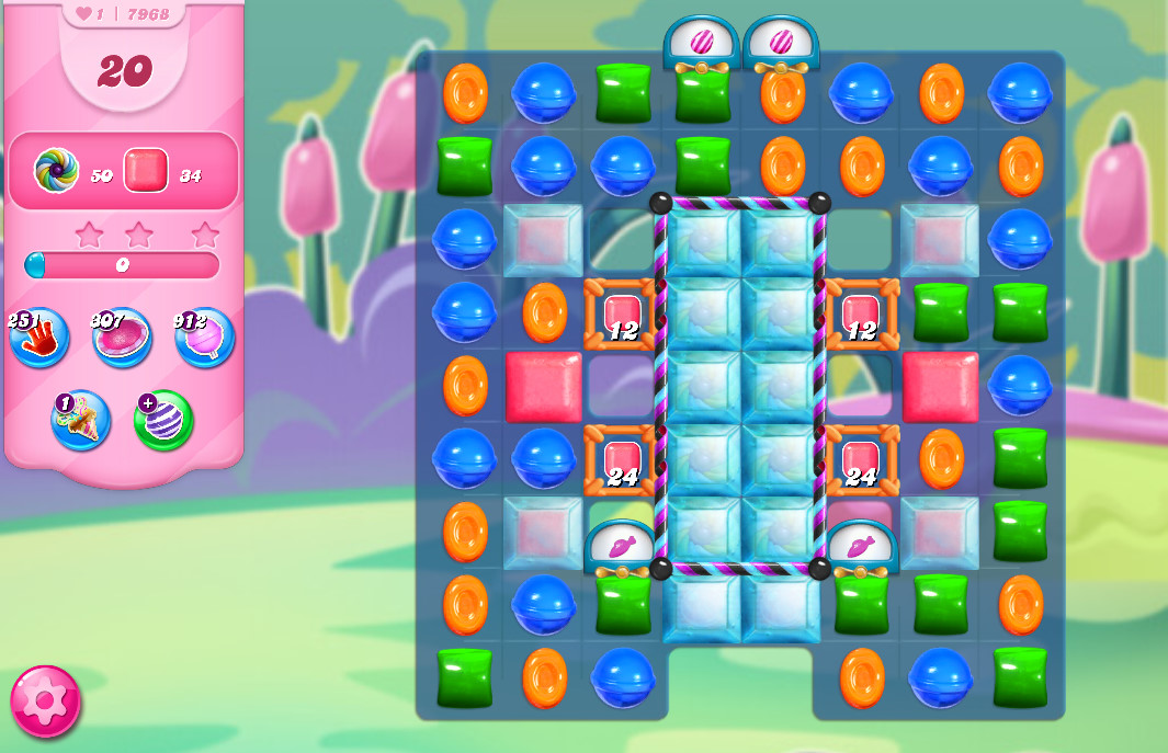 Candy Crush Saga level 7968