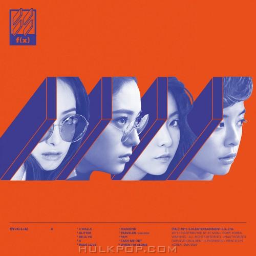 f(x) – '4 Walls' – The 4th Album (FLAC + ITUNES PLUS AAC M4A)