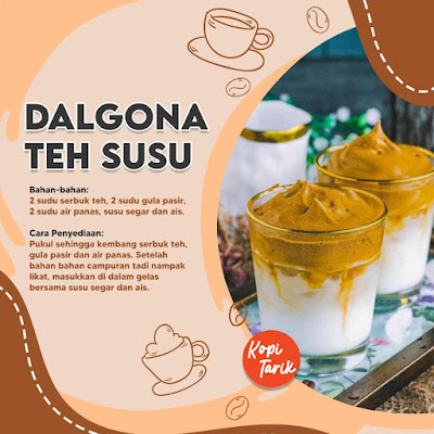 Dalgona Teh Susu