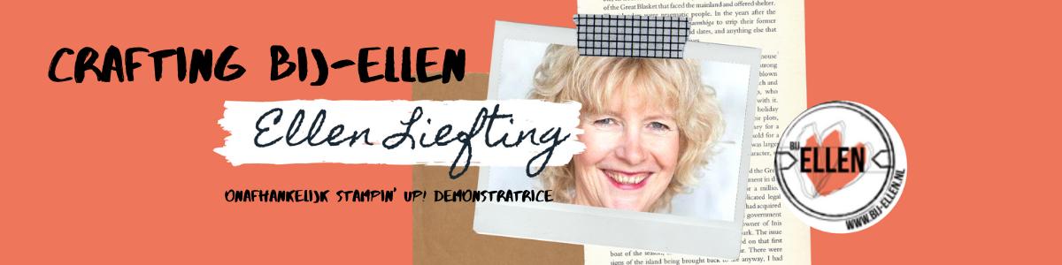 Crafting bij-Ellen Liefting, onafhankelijk Stampin' Up! demonstratice.