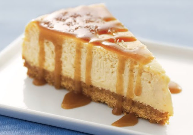 Salted Caramel Cheesecake #desserts #cheesecake