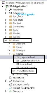 Layout View in asp.net MVC tutorials