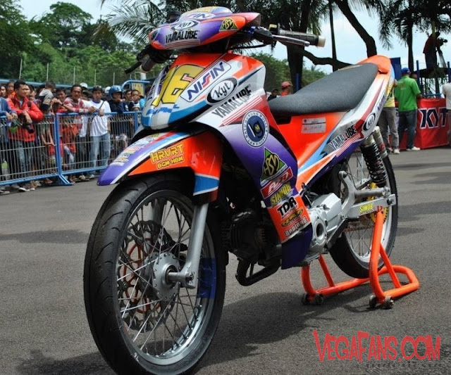Modifikasi Jupiter Z Road Race
