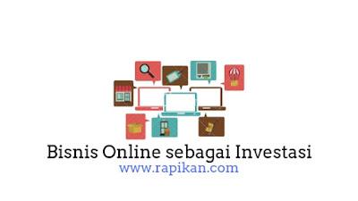Bisnis online untuk inveatasi jangka panjang