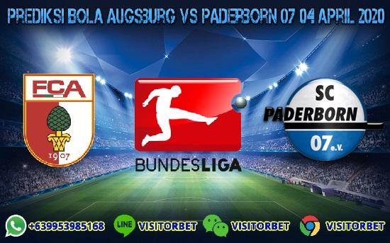 Prediksi Skor Augsburg vs Paderborn 07 04 April 2020