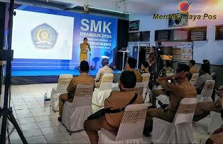 SMK Mutiara 3 Mayong Tuan Rumah Penggerak Sosialisasi SMK Membangun Desa