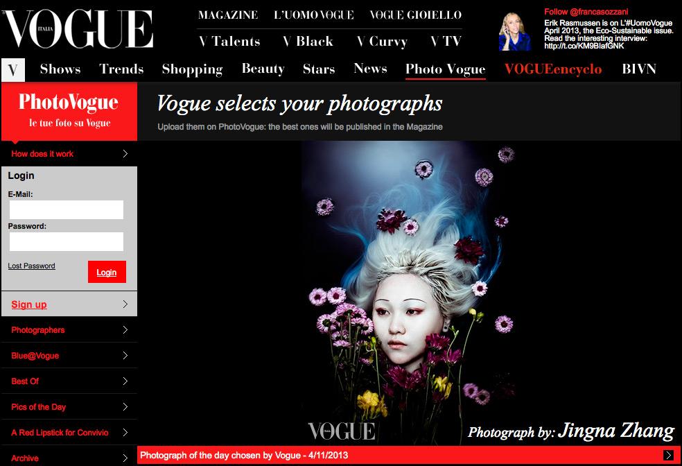 Photo Vogue, Slave Mag, Out of Order Magazine, Mochi