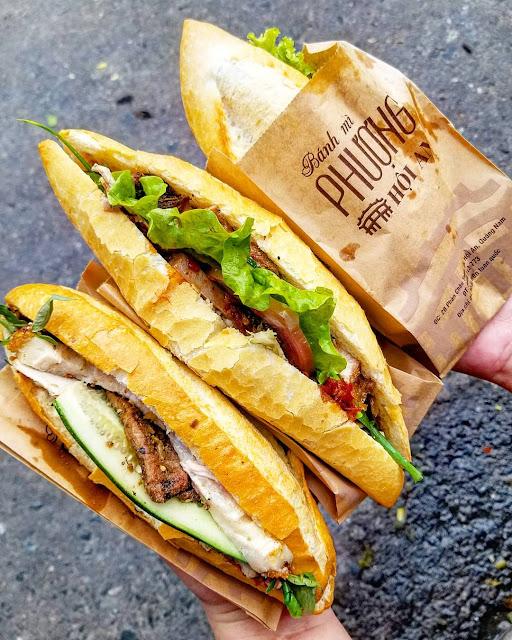 Bánh mì Phượng - Địa điểm ăn uống được khách du lịch tìm kiếm khi đến Hội An