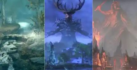 The Elder Scrolls: Every Realm Of Oblivion,Explained