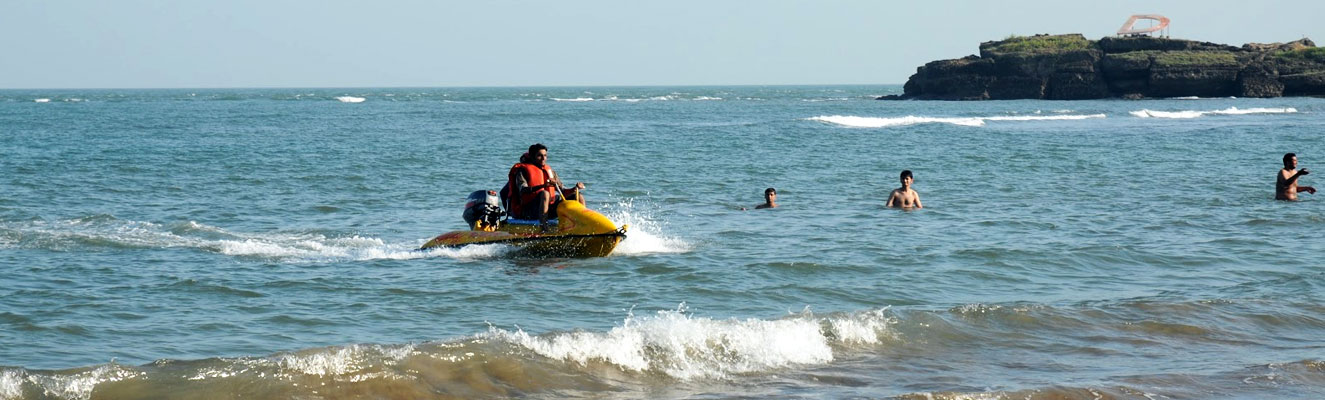 Water Sports at Nagoa Beach, Diu