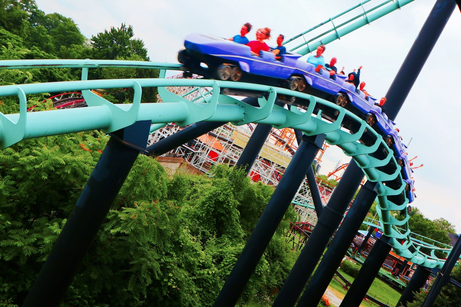 Image of Phantoms Revenge Roller Coaster Kennywood