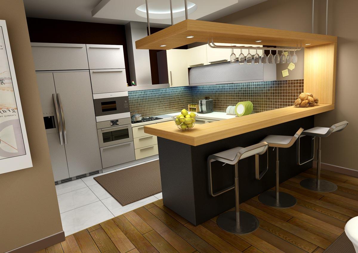 Cmo disear un desayunador para cocina revista tendenciadeco desayunador con tecnologa led altavistaventures Images