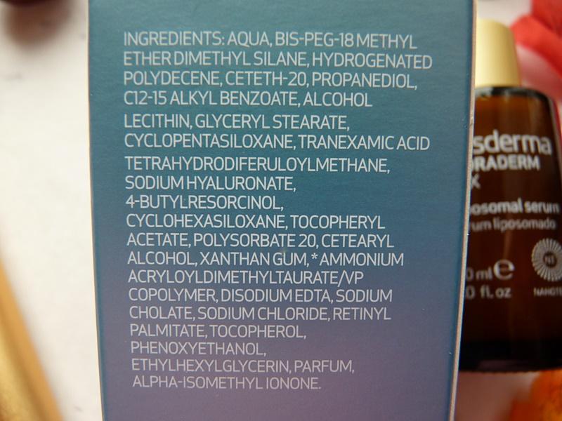 Sesderma HIDRADERM TRX Serum liposomowe inci ingredients
