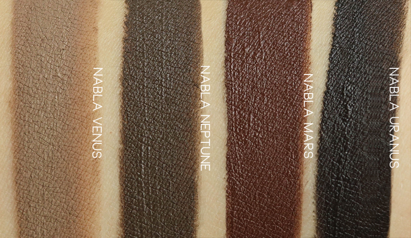 Nabla Cosmetics Brow Pot swatch