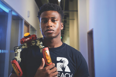27 year old Nigerian becomes world's highest paid Robotics Engineer