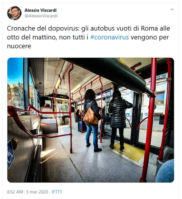 Situazione del trasporto pubblico di Roma di giovedì 5 marzo