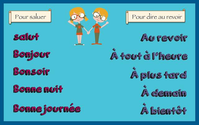 Podstawowe zwroty - przywitania i pożegnania 2 - Francuski przy kawie