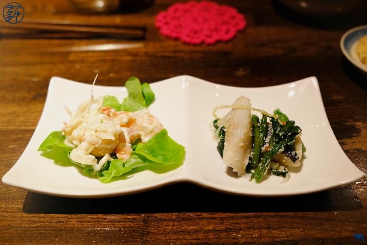 Le Chameau Bleu - Voyage au Japon dans le Tohoku - Kakunodate - Maquereau au vinaigre