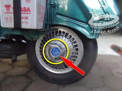 lepas cover roda
