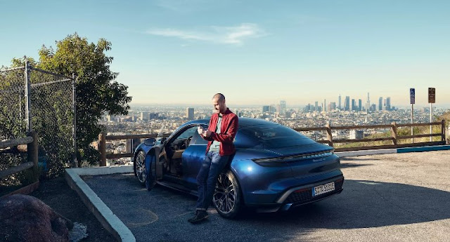 Porsche Taycan Turbo - Electric Car Competitor for Tesla