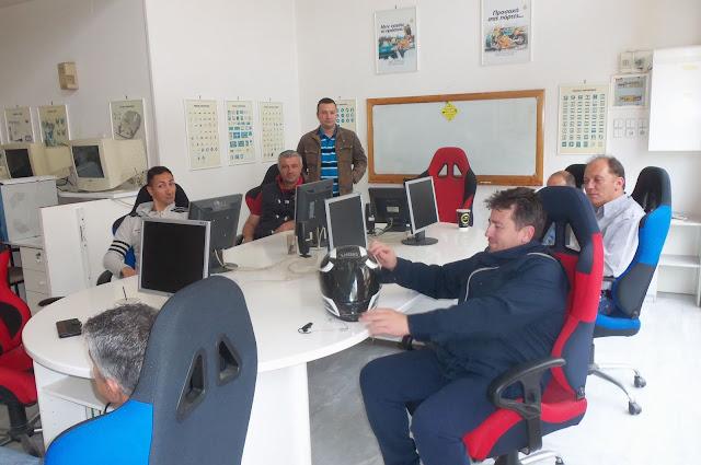 Εκπαιδευτική επίσκεψη του ΙΕΚ ΟΑΕΔ Αργολίδας στη Σχολή Οδήγησης-Κέντρο Θεωρίας Οδηγών ΝΑΣΣΟΣ-ΝΕΖΟΣ