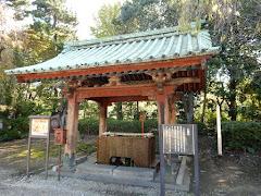 増上寺水盤舎